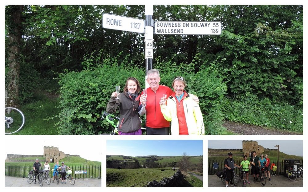 Hadrian's Cycleway Collage