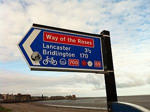Morecambe WOTR Sign